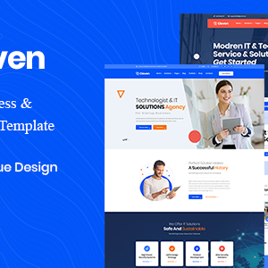 Cloven – Corporate Business & Blogging Jekyll Template