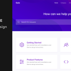 Guia – Documentation and Helpdesk Jekyll Theme