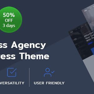Fads – Business Agency WordPress Theme
