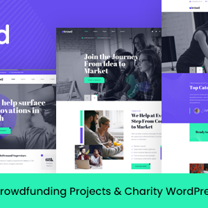 Krowd – Crowdfunding & Charity WordPress Theme
