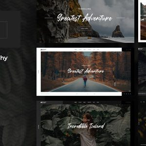 Oculus – Photography WordPress Theme