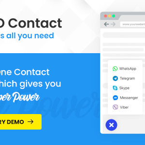 AIO Contact – All in One Contact Widget