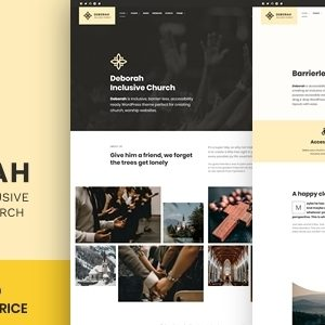 Deborah – Inclusive Church WordPress Theme