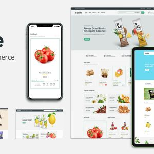 Ecolife – Organic WooCommerce WordPress Theme