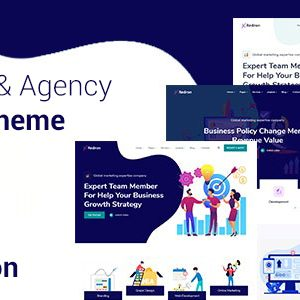 Redron – Startup & Agency Bootstrap 5 Jekyll Theme
