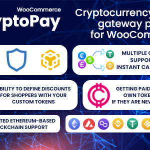 CryptoPay WooCommerce – Cryptocurrency payment gateway plugin