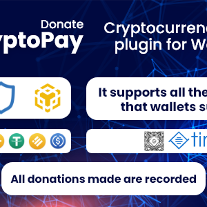 CryptoPay Donate – Cryptocurrency donate plugin for WordPress